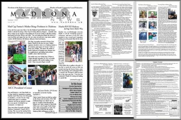 Madrona News