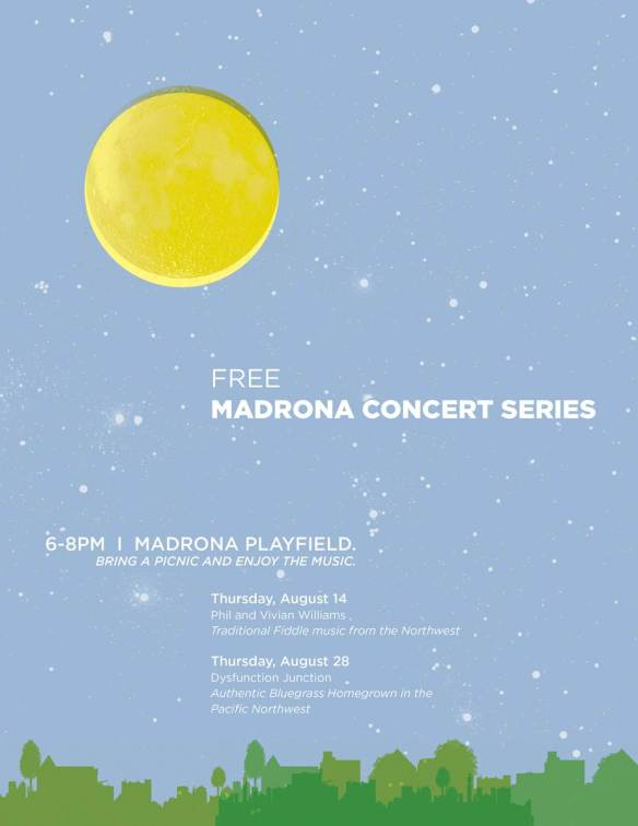 madrona summer concerts