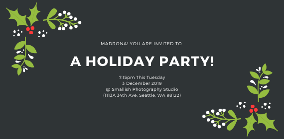 Madrona! You are invited